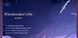 Wavebreaker's Fin Genshin Impact
