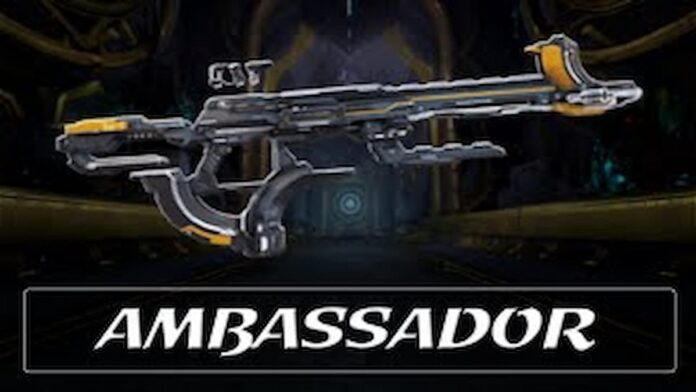 Ambassador weapon in Warframe