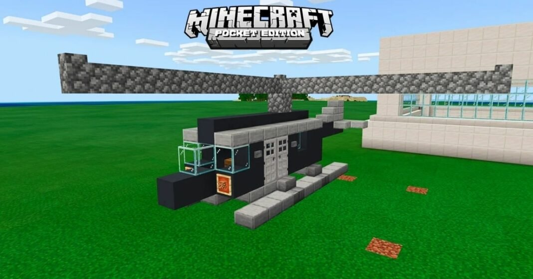 How to Build a Helicopter in Minecraft