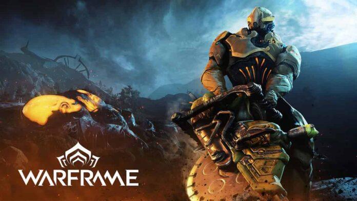 Warframe game banner